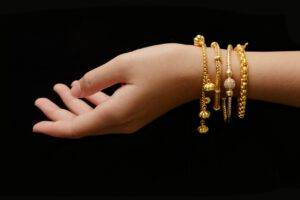 gouden armband 14 karaat dames